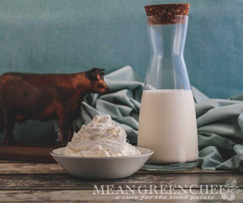 Chantilly Cream Recipe | Mean Green Chef