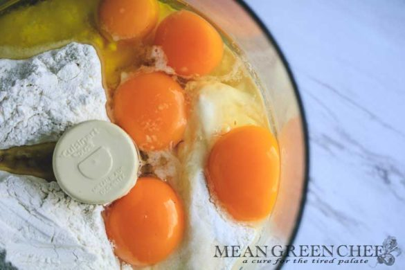 Easy Egg Yolk Pasta Recipe | Mean Green Chef