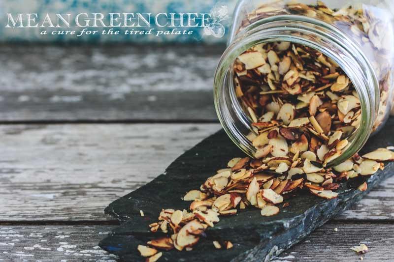 Pan Roasted Almonds Recipe