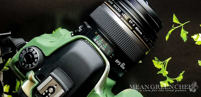 Camera Gear   Food Photography   Mean Green Chef