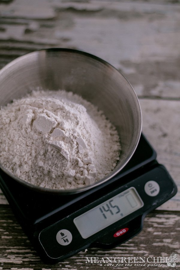 Flour for shortcrust pastry.
