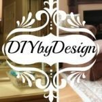 Diy by Design link party logo.