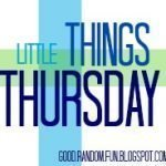 Little Things Thursday Link Party Logo