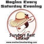 Sundays Best Linkup Link Party Logo