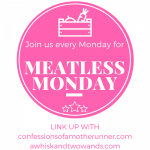 Meatless Monday Link Party logo