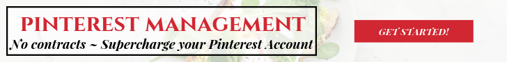 Pinterest Management Services by Mean Green Chef