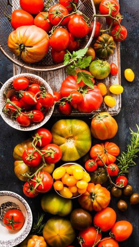 Assortment of Heirloom Tomatoes