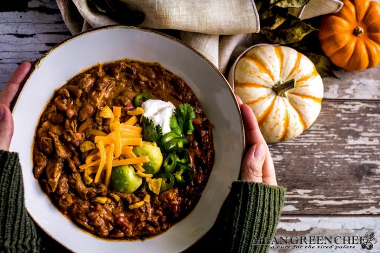 Pumpkin Chicken Chili Recipe