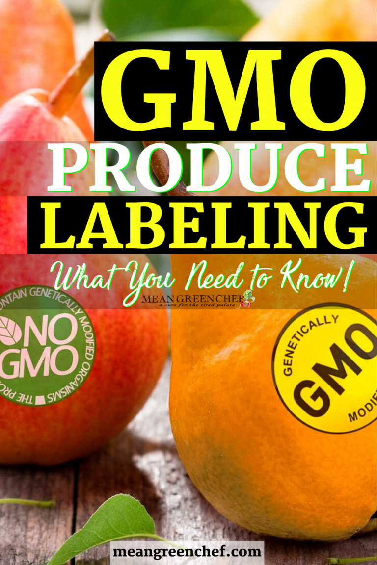 GMO Produce Labeling and What You Need to Know, pin for Pinterest