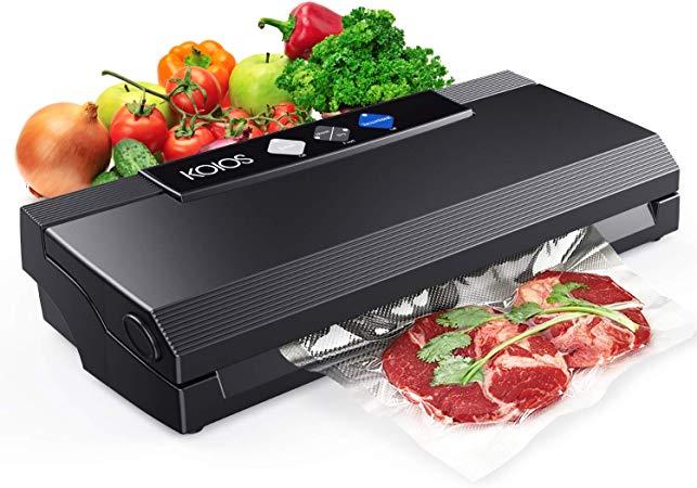 Vacuum Sealer for Sous Vide steaks being sealed