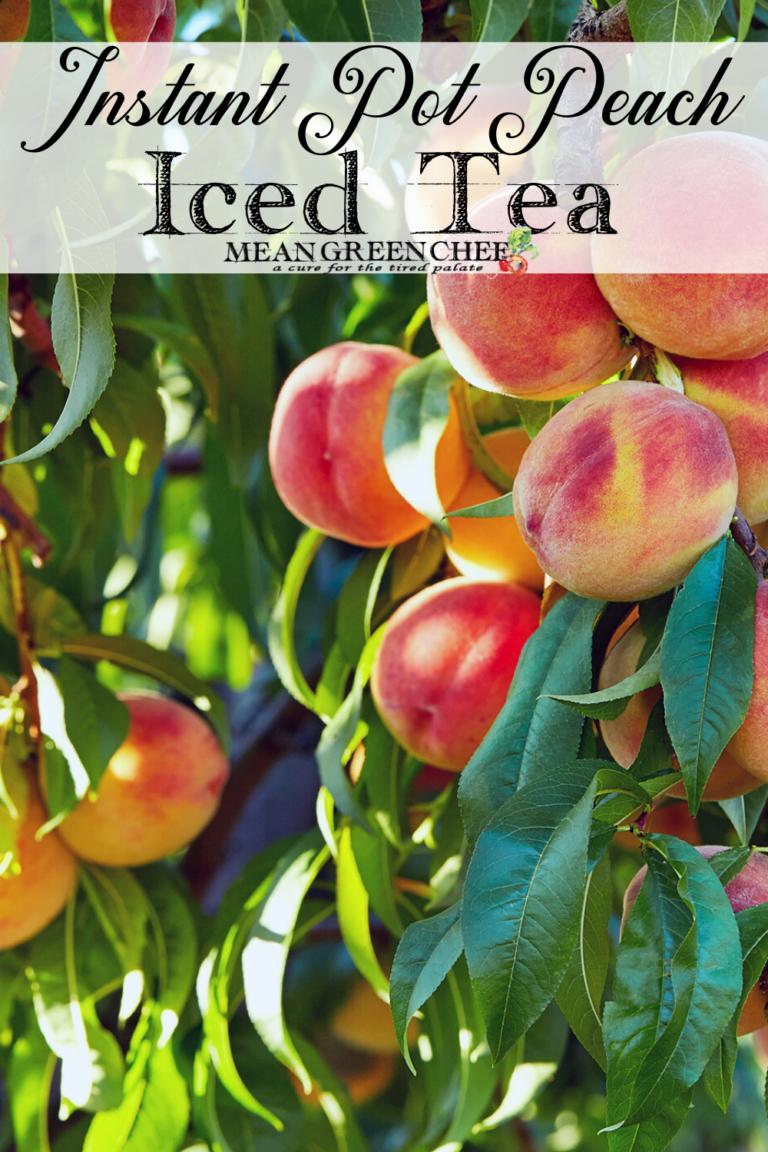 Peach tree in the sun